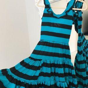 SALE SAMPLE Striped BEETLEJUICE Dress
